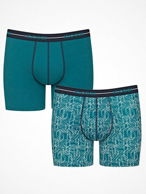 Sloggi 2-pack Men Start Short C2P M009 Blue Pattern