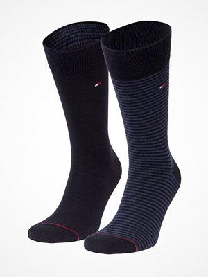 Tommy Hilfiger 2-pack Men Sock Stripe Black/Blue