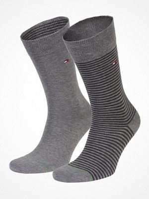 Tommy Hilfiger 2-pack Men Sock Stripe Grey