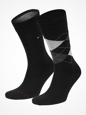 Tommy Hilfiger 2-pack Men Sock Check Black