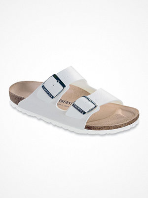 Tofflor - Birkenstock Arizona Birkoflor White
