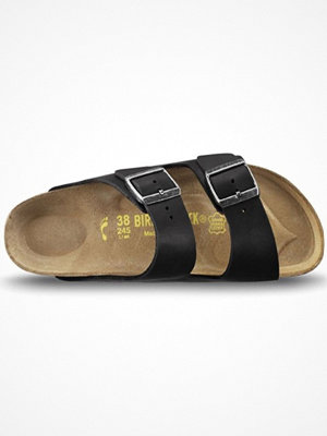 Tofflor - Birkenstock Arizona Läder Black