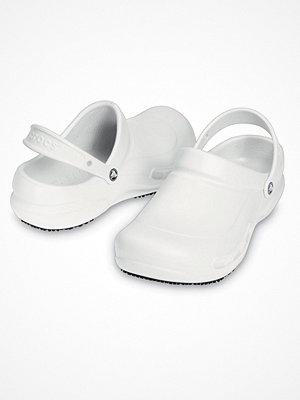 Tofflor - Crocs Work Bistro Unisex White