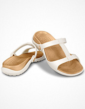 Tofflor - Crocs Cleo III White