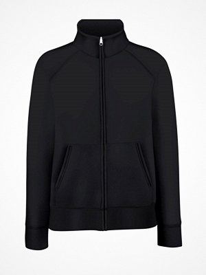 Fruit of the Loom Lady-Fit Sweat Jacket Black