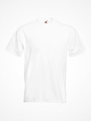 Fruit of the Loom Valueweight Crew Neck T White