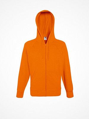 Fruit of the Loom Hooded Sweat Jacket Orange