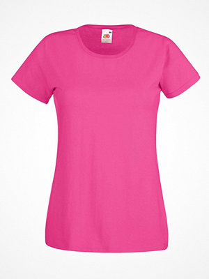 Fruit of the Loom Lady-Fit Valueweight T Pink