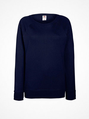 Fruit of the Loom Lady-Fit Light Raglan Sweat Darkblue