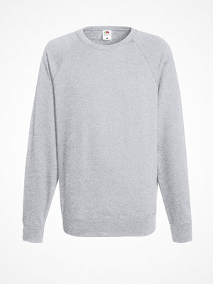 Fruit of the Loom Light Raglan Sweat Greymarl