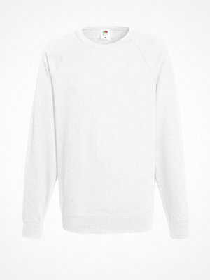 Fruit of the Loom Light Raglan Sweat White