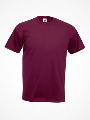 Fruit of the Loom Super Premium T Wine red