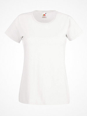 Fruit of the Loom Lady-Fit Valueweight T White