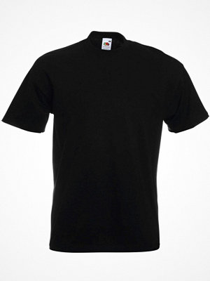 Pyjamas & myskläder - Fruit of the Loom Super Premium T Black