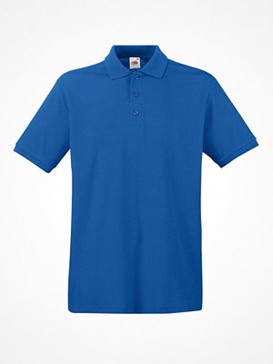T-shirts - Fruit of the Loom Premium Polo Royalblue