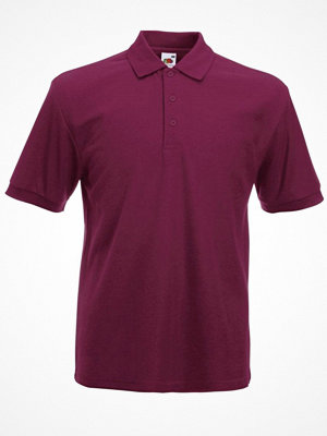 T-shirts - Fruit of the Loom Heavy 65/35 Polo Wine red