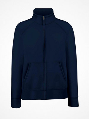 Fruit of the Loom Lady-Fit Sweat Jacket Darkblue