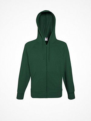 Fruit of the Loom Hooded Sweat Jacket Darkgreen
