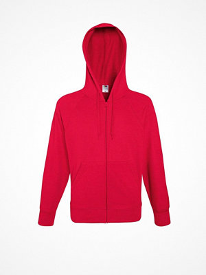 Fruit of the Loom Hooded Sweat Jacket Red