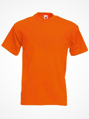 Fruit of the Loom Valueweight Crew Neck T Orange