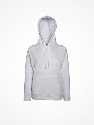 Fruit of the Loom Lady-Fit Light Hooded Sweat Greymarl