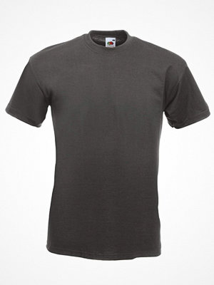 Fruit of the Loom Valueweight Crew Neck T Graphite