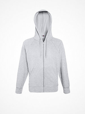 Fruit of the Loom Hooded Sweat Jacket Greymarl