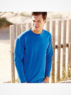 Fruit of the Loom Valueweight Long Sleeve T Royalblue