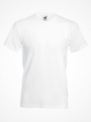 Fruit of the Loom Valueweight V-neck T White