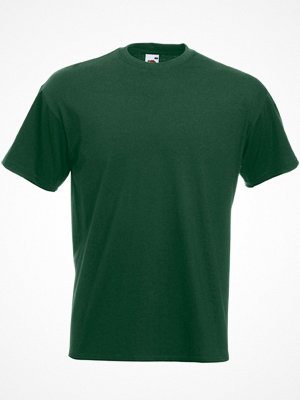 Fruit of the Loom Valueweight Crew Neck T Darkgreen