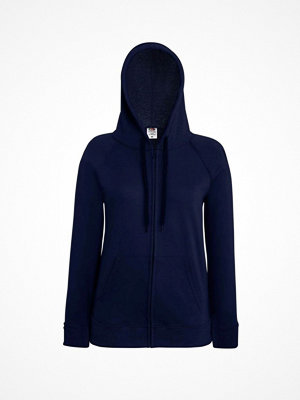 Fruit of the Loom Lady-Fit Hooded Sweat Jacket Darkblue