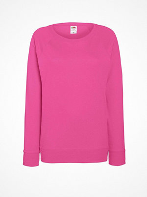 Fruit of the Loom Lady-Fit Light Raglan Sweat Pink