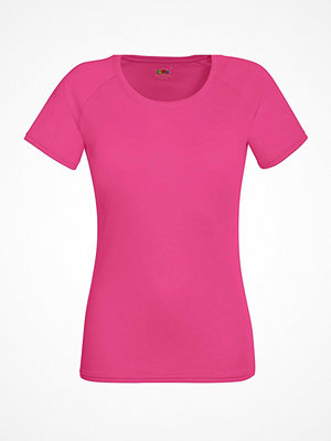 Fruit of the Loom Lady-Fit Performance T Pink