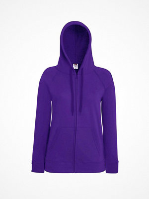 Fruit of the Loom Lady-Fit Hooded Sweat Jacket Lilac