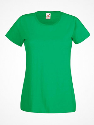 Fruit of the Loom Lady-Fit Valueweight T Green