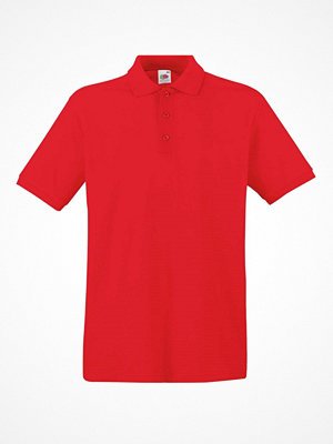 T-shirts - Fruit of the Loom Premium Polo Red
