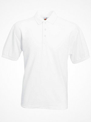 T-shirts - Fruit of the Loom 65/35 Polo White