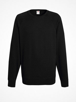 Fruit of the Loom Light Raglan Sweat Black