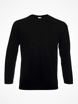 Fruit of the Loom Valueweight Long Sleeve T Black