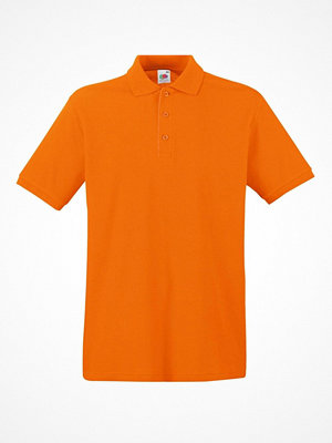 T-shirts - Fruit of the Loom Premium Polo Orange