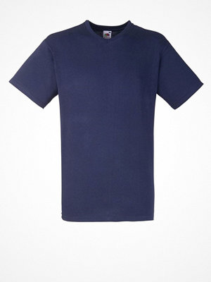 Fruit of the Loom Valueweight V-neck T Darkblue