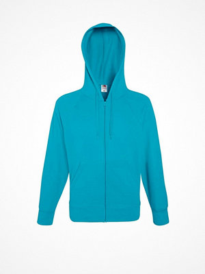 Fruit of the Loom Hooded Sweat Jacket Blue