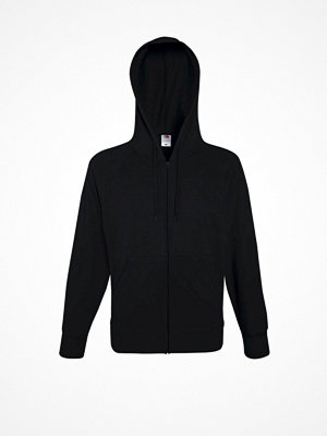 Fruit of the Loom Hooded Sweat Jacket Black
