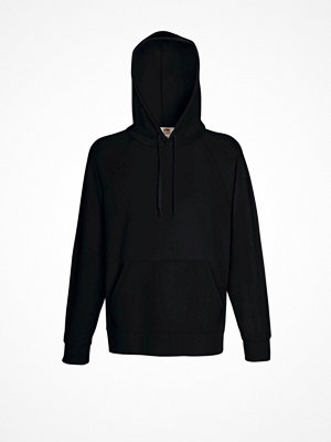 Fruit of the Loom Light Hooded Sweat Black