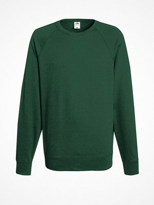 Fruit of the Loom Light Raglan Sweat Darkgreen