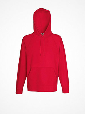 Fruit of the Loom Light Hooded Sweat Red