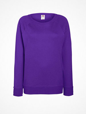 Fruit of the Loom Lady-Fit Light Raglan Sweat Lilac