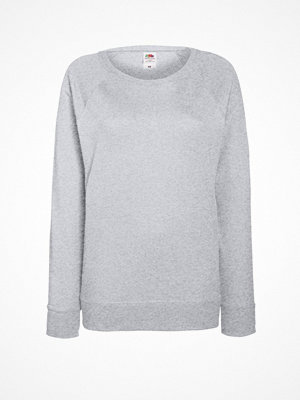 Fruit of the Loom Lady-Fit Light Raglan Sweat Greymarl
