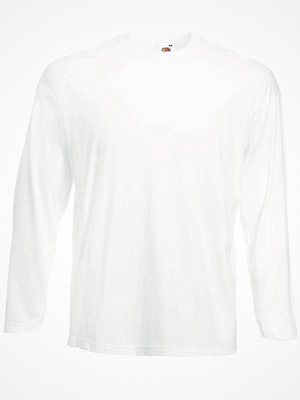 Fruit of the Loom Valueweight Long Sleeve T White
