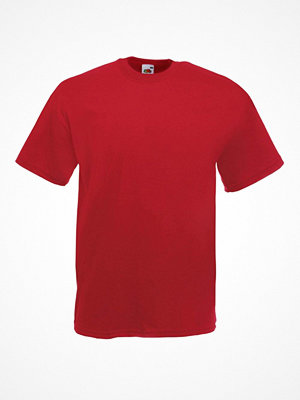 Fruit of the Loom Valueweight Crew Neck T Darkred